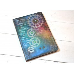 Carnet A5 Steampunk Engrenages
