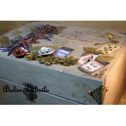 Grande boîte à bijoux Alice...