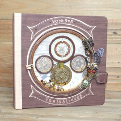 Album photos steampunk Horloge