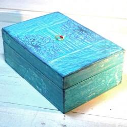Boîte à thé Turquoise