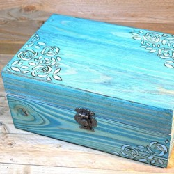 Boîte à bijoux shabby