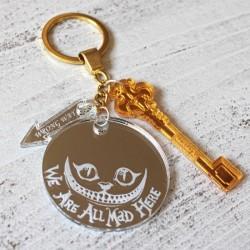 Porte clé Chat de cheschire