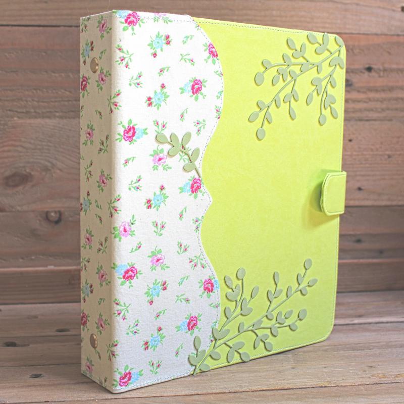 agenda format A5 motif liberty vert printemps